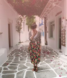 Paros island diary - day one #fbloggers #ootd