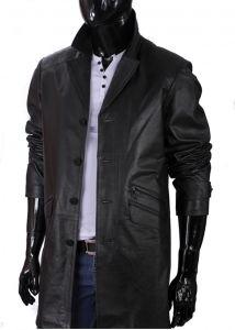 Płaszcz skórzany  męski DORJAN ERK450
