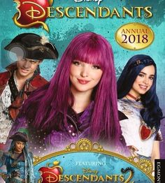 Descendants 2 Dove Cameron as Mal Sofia Carson as Evie Thomas Doherty as Harry and China Anne MicLaine as Uma
