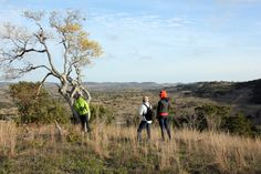 The Texas Hill Country has beautiful views. Here's our favorite one from Brushy Top Ranch, near Blanco.