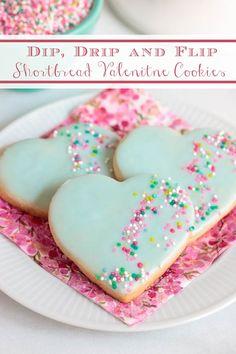 Valentines Baking, Valentine Desserts, Valentine Cookies, Holiday Desserts, Holiday Cookies, Just Desserts, Delicious Desserts, Yummy Snacks, Holiday Recipes