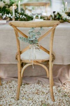Cute and simple wedding decor!