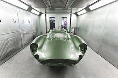 1:1 Scale Model of a 1959 Aston Martin