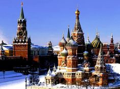 Saint Basil's Cathedral - Winter view
