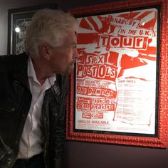 "Richard Branson on Instagram: ""Spotted Peter Gabriel's suit and The Sex Pistols tour poster on the walls of the Hard Rock Hotel in Vegas – soon to be @VirginHotels. From…"" Peter Gabriel, Hard Rock Hotel, Tour Posters, Richard Branson, Pistols, Poster On, Special Guest, About Uk, Vegas"