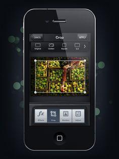 Camera Genius App Interface Design