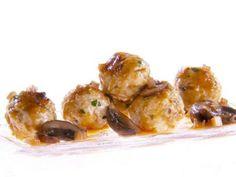 Chicken Marsala Meatballs Recipe : Giada De Laurentiis : Food Network