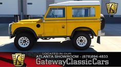 1977 Land Rover Serie 3/ Game - Gateway Classic Cars of Atlanta Love the S3 #242