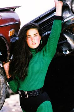 Jennifer Connelly as the She Hulk. Hulk, Hollywood Actresses, Actors & Actresses, Jennifer Connelly Young, Dame Diana Rigg, Side Swept Hairstyles, Beautiful Young Lady, Yesterday And Today, Golden Age Of Hollywood