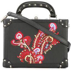 Bertoni 1949 mini box tote (9,555 CNY) ❤ liked on Polyvore featuring bags, handbags, tote bags, black, tote purses, handbags tote bags, mini tote handbag, miniature purse and tote handbags