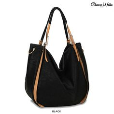 Chasse Wells Baiser Slouchy Tote with Shoulder Strap - Assorted Colors $39.00