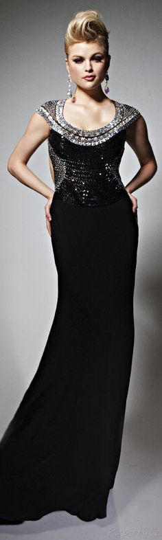 Tony Bowls TBE21391 Evening Fall 2013 Gown