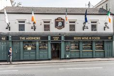 The Ardmore Pub – Bray Town In County Wicklow (Ireland) Image by infomatique Bray is a town in north County Wicklow, Ireland. It is a busy urban centre and seaside resort, with a population o… Ardmore Ireland, Dream Vacations, Vacation Spots, Ireland Pubs, Images Of Ireland, Pubs And Restaurants, Travel Log, Seaside Resort, Republic Of Ireland