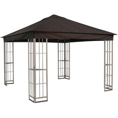Garden Winds Replacement Canopy Top Cover for Gazebo Rip Lock 500 at Lowe's. This is a replacement canopy for the garden treasures gazebo. Garden Winds rip lock 500 canopy with ultra stitch and durable pockets. This canopy Gazebo Pergola, Canopy Curtains, Canopy Bedroom, Backyard Canopy, Garden Canopy, Fabric Canopy, Diy Canopy, Canopy Cover, Pergola Canopy