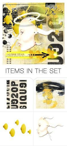 """""""Alone Star"""" by my-time-is-now ❤ liked on Polyvore featuring art"""