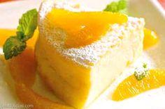 Postres: cheesecake de naranja casero - http://www.leanoticias.com/2014/02/10/postres-cheesecake-de-naranja-casero/