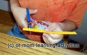 Scissor Cutting...  How To Help Your Child!