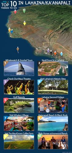 Top 10 Things To Do in Lahaina & Kaanapali! http://www.prideofmaui.com/blog/maui/top-10-things-lahaina-kaanapali.html