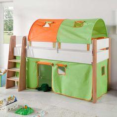 betthimmel-set weiß für himmelbett 90x200cm, 4-teilig, hoppekids ... - Ausziehbares Kinderbett Mit Zeltdach Abenteuern