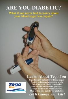 Tego Tea for Type 2 Diabetes Blood Sugar Levels, Lower Blood Sugar, Diabetic Drinks, Natural Cures, Fun Drinks, Tea Time, Diabetes, Health Tips, The Cure