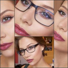 Kylie Jenner Inspired, Makeup For Glasses. By Hayley Kassel Eye Makeup Tips, Makeup Blog, Beauty Makeup, Hair Makeup, Kylie Makeup, Eye Makeup Cut Crease, Smokey Eye Makeup, Makeup For Brown Eyes, Eyeliner