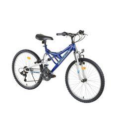 """Juniorský bicykel Reactor Freak 24"""" - modrá"""