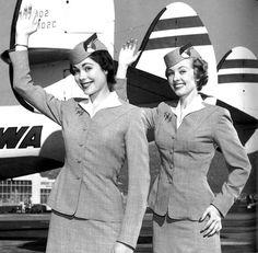 TWA Flight attendantws