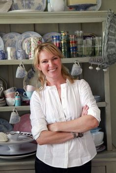 "CELEBRITY CHEF: Rachel Allen, Ireland. Love her show ""Rachel Allen Bakes"" on Cooking Channel. Would love to take a class with her in her cooking school in Ireland."