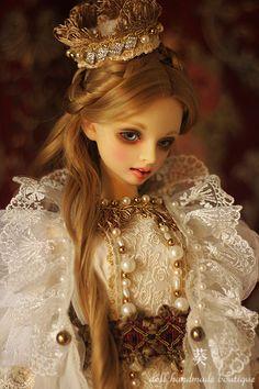 ★葵★SD,SDGr少女用ドレス『Arwen queen』_画像1