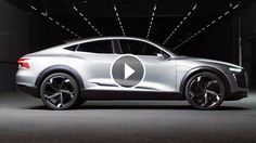 The architecture of e mobility: Audi e-tron Sportback concept In production from 2019: second electric Audi Emotional and powerful: Audi coupé design Illuminating: e-tron light communicates with its surroundings      Design study and technology demonstrator, electric car