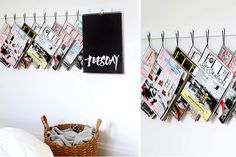 DIY | Tijdschriftenrek