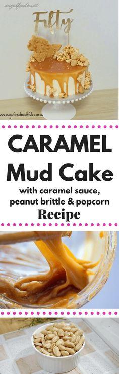 Caramel Overload Mud Cake Recipe | Angel Foods