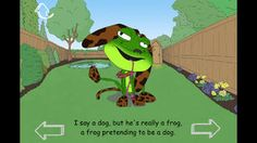 Mr Frog the Neighbours Dog | Books |498941156| iPhone App |  LIMITED TIME FREE  $0.00