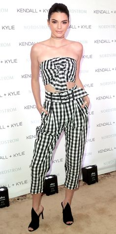 Kendall Jenner in head-to-toe Kendall + Kylie Collection