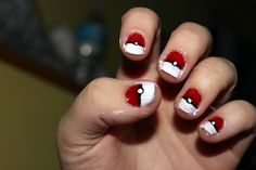 *Did* Pokemon-inspired nails :)