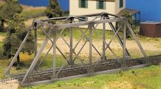 Bachmann Plasticville O, 45975 Trestle Bridge Kit | ModelTrainStuff.com 17.25 inches long