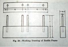 STRING HEDDLES FLOOR LOOM | Weavolution
