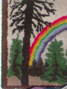 Rare Vintage Retro 1960s Carpet Natural by PatsapearlsBoutique, $195.99