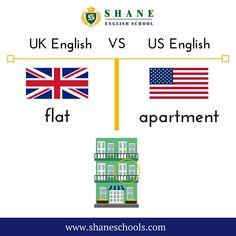 English Fun, English Class, English Lessons, British Vs American, Education, School, Languages, Instagram, Usa