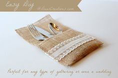Today I am sharing a tutorial with you where you can make your own Burlap Lace Utensil Holders.This is an easy fall crafting project that's quick! Perfect for a Thanksgiving table decor setting. But, you can create these anytime for your table decor at home or for an event such as a rustic wedding or …