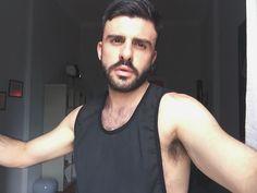 #beardman #hairy #black #face