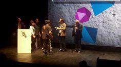 """ClaytricSurface : Présentation aux Awards et Test de RA'pro ! by augmented reality. Le projet ClaytricSurface a remporté le prix """"Design Industriel et Simulation"""" aux Laval Virtual Awards 2012. Voici la remise du prix et un test de la solution !"""