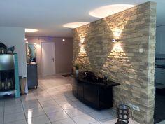 Steinwand Wohnzimmer Navarrete
