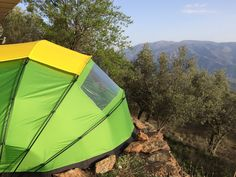 Meet the Nano 2 & a clamshell dome tent that opens and closes like a baby carriage