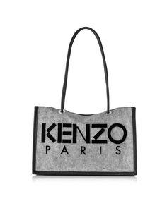 e99e3b2e1e5d Kenzo Canvas Tote Bag at FORZIERI Diy Canvas