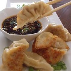 Chinese Pork Dumplings AKA Pot Stickers  #MyAllrecipes  #PotStickers  #ChineseNewYear