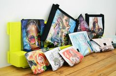 Hand made bags and accessories - Just Read it' 'n' wear it