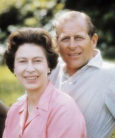 Elisabeth e Philip d'Inghilterra