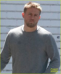 Charlie Hunnam Takes a Lunch Meeting Before the Weekend
