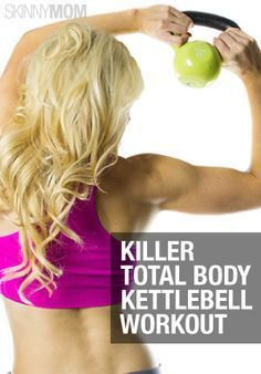Full Body Kettlebell Workout! #healthy #workout #fitness #toned